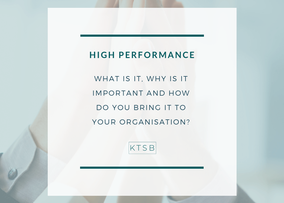 """What does """"High-Performance"""" mean?"""