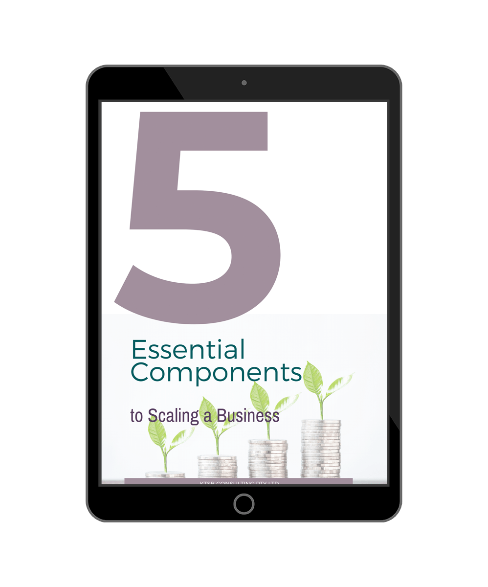 5 components to scaling your business